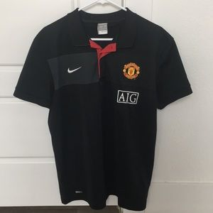 Men's Nike Fit Dry Manchester United EUC Top Large